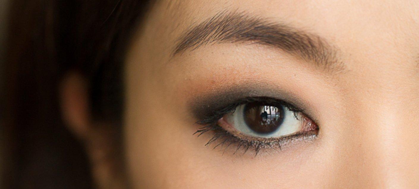 Смоки макияж азиатских глаз