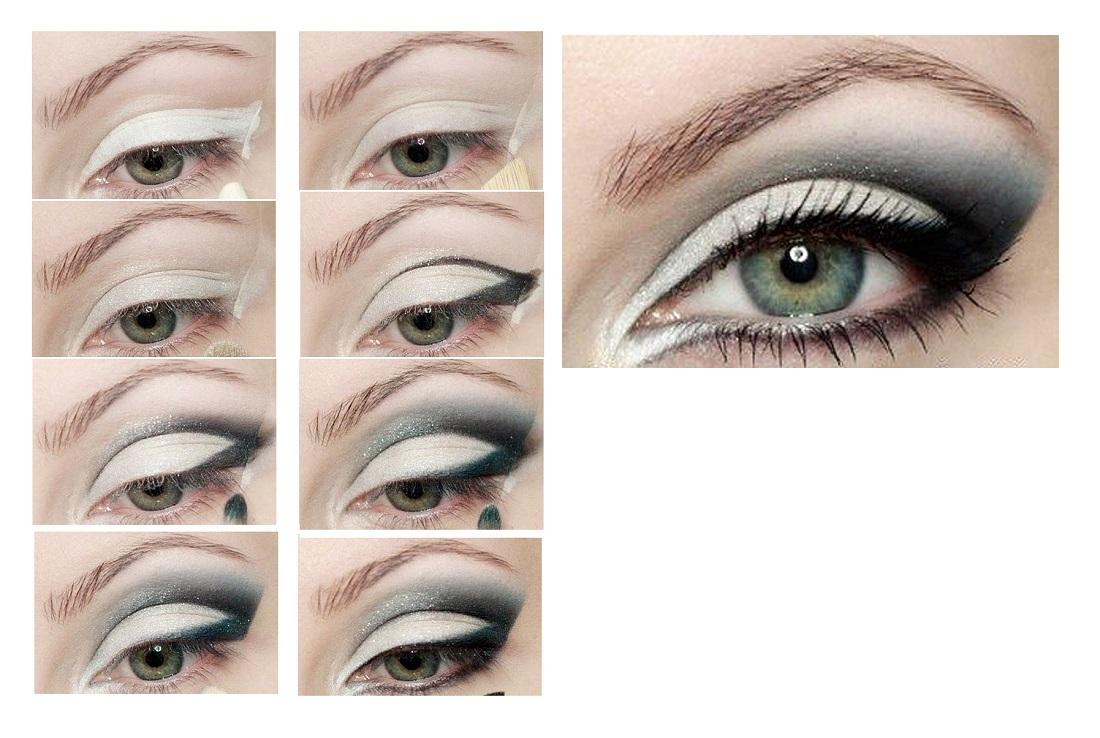 Макияж кошачий глаз: пошаговая инструкция с фото 2