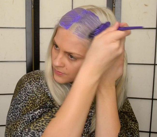 Покрась волосы в домашних условиях тоником 903
