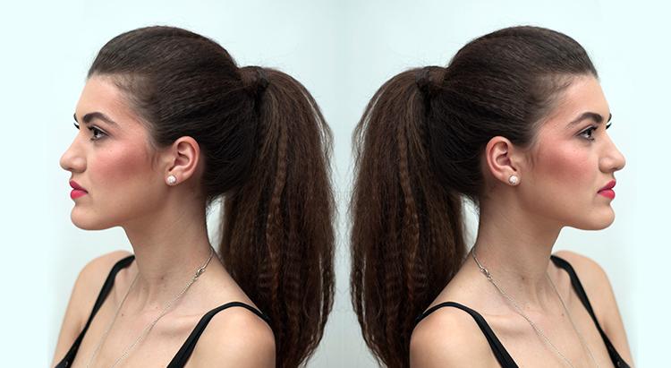 Как сделать гофре на коротких волосах