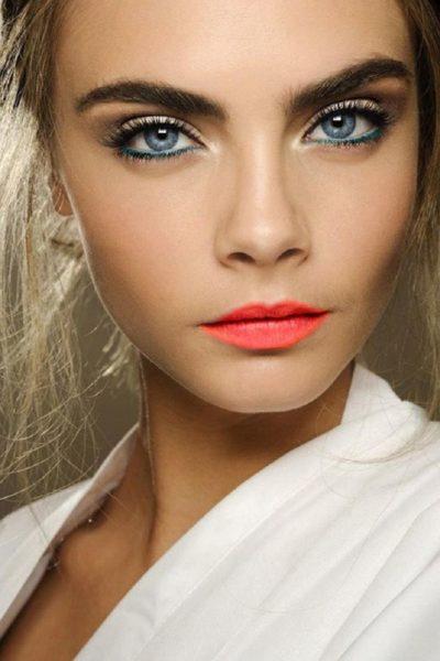 Макияж для зеленых глаз для брюнеток Как сделать