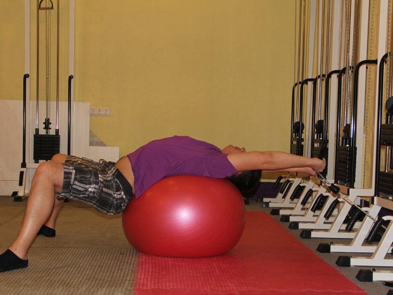 С бубновский поясничный остеохондроз упражнения