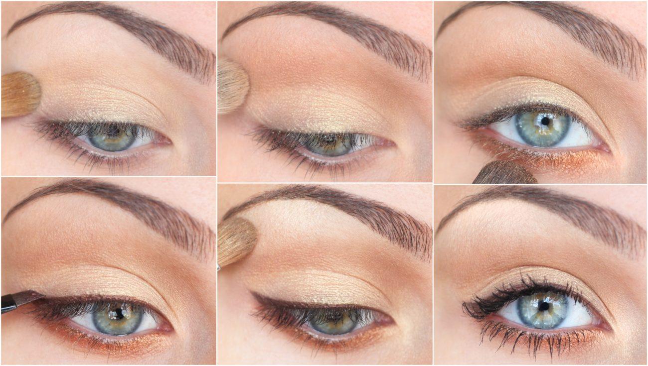 Как самой сделать красивый макияж глаз