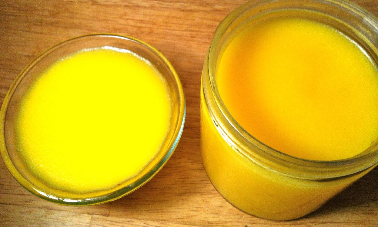 Как сделать с масла топленое масло