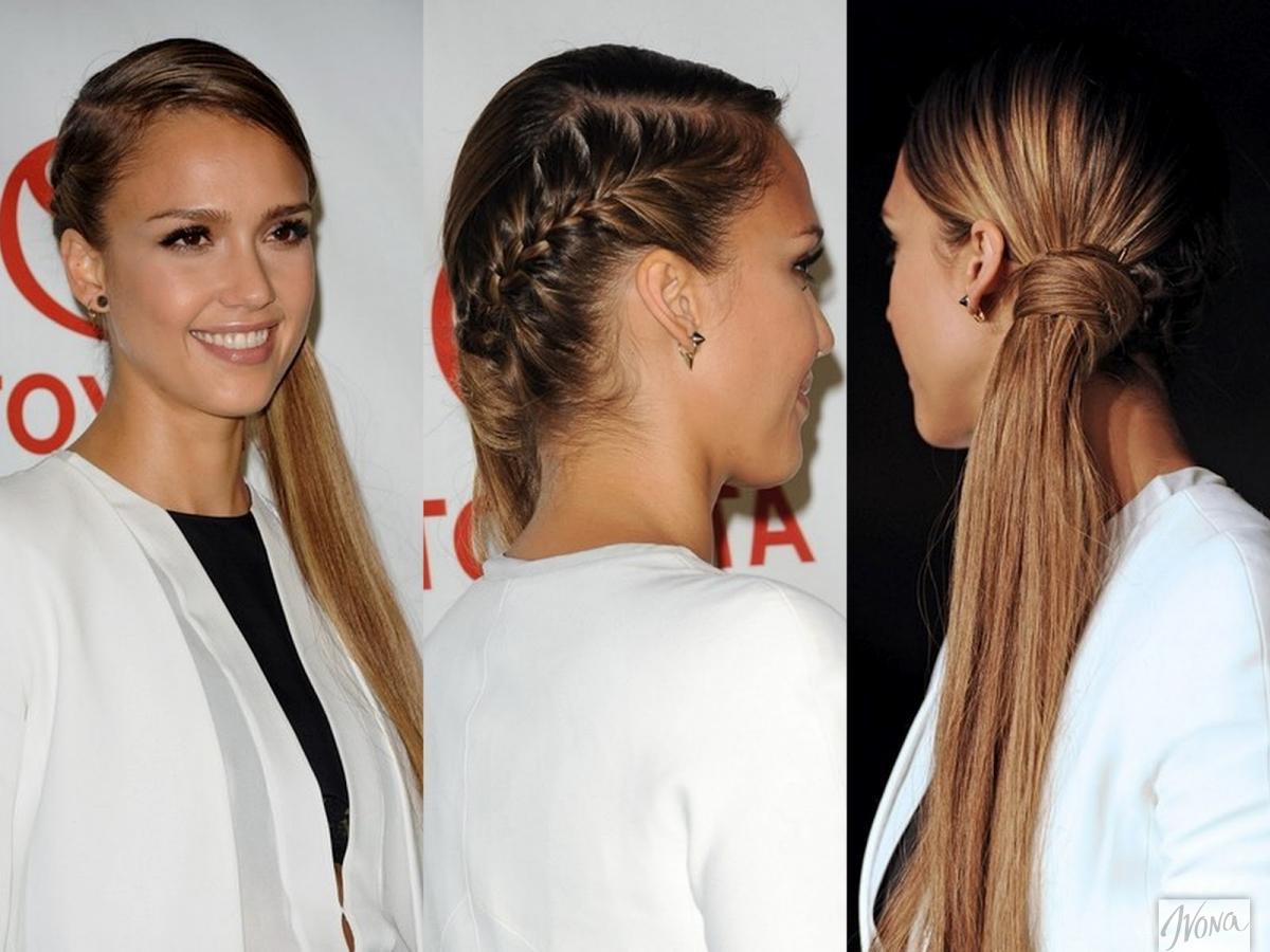 Прически для длинных волос сбоку