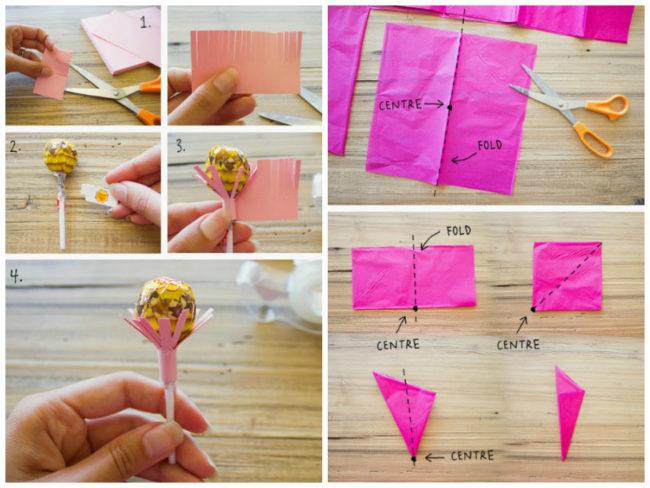 Как сделать букет из чупа чупсов своими руками для начинающих фото пошагово в