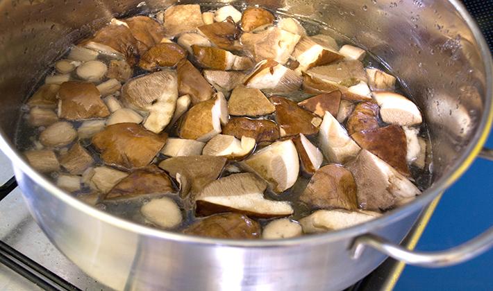 Подберезовики рецепты приготовления на зиму пошагово