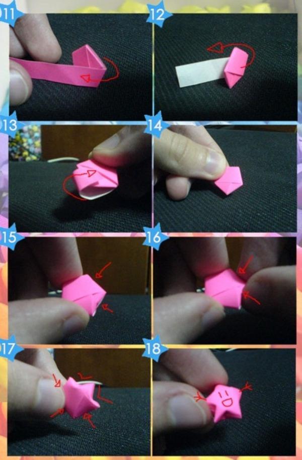 Как сделать маленькие звездочки из бумаги