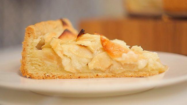 цветаевский яблочный пирог пошаговый рецепт с фото готовим дома