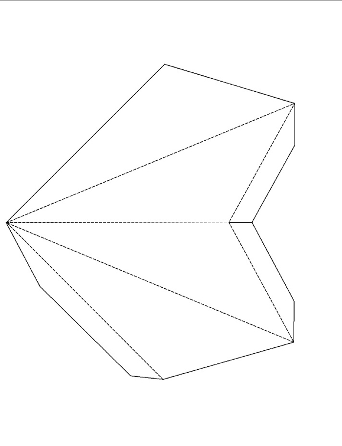 Звёзды из бумаги своими руками шаблоны 896