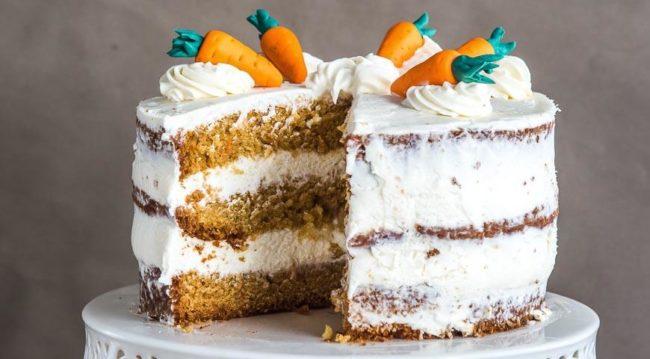 морковный торт рецепт с фото пошагово в домашних