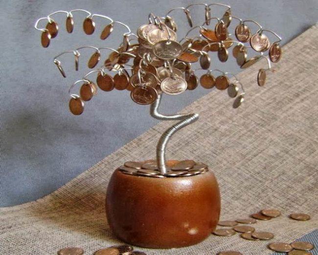 Стихи к подарку денежное дерево - Поздравок