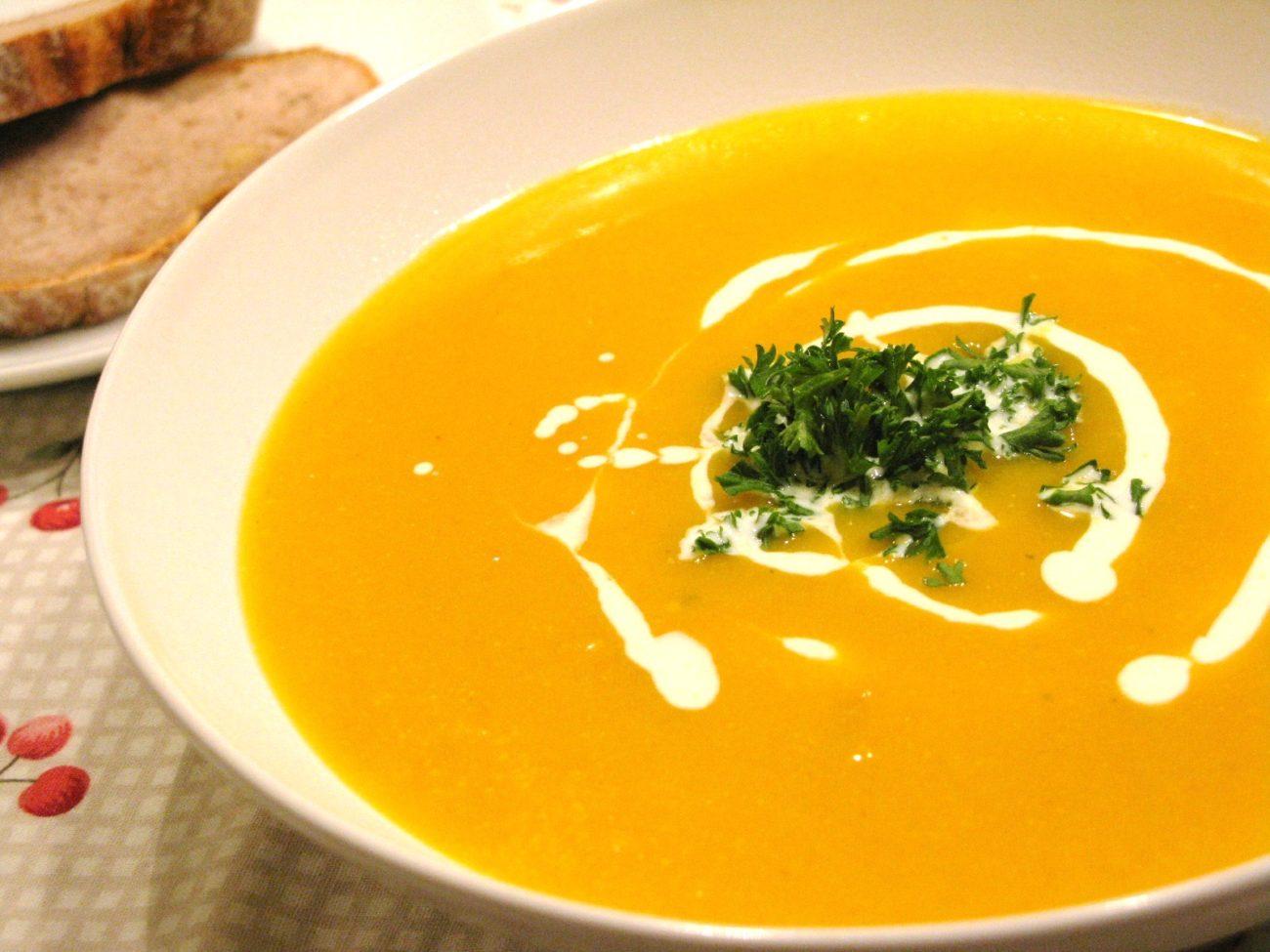 Рецепт суп пюре тыква пошагово фото
