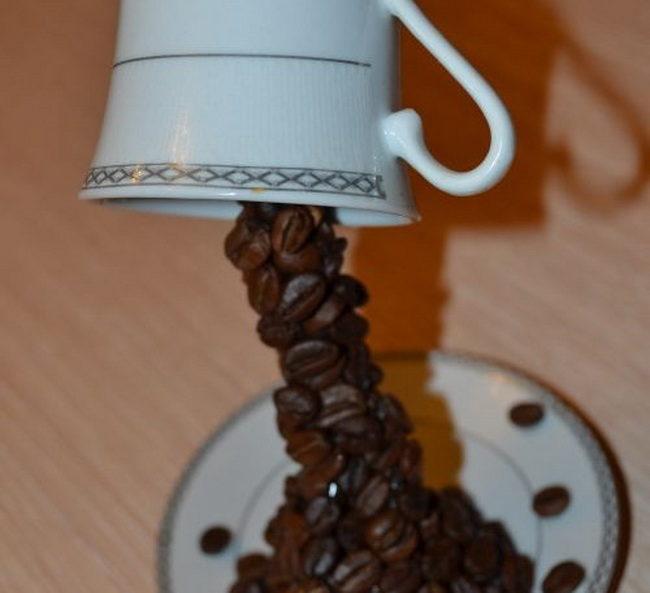 Как сделать поделки с кофейным зерном 959