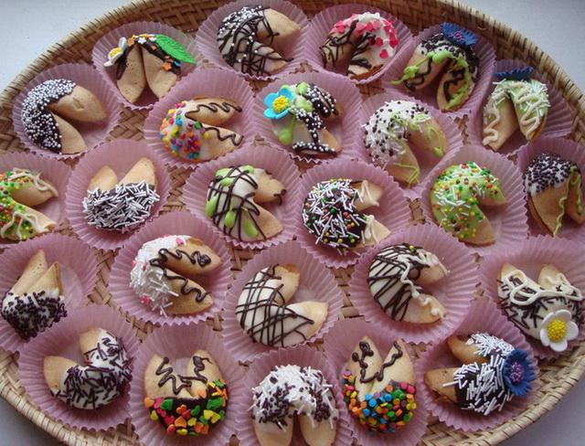 Как сделать печенье с предсказаниями в домашних 376