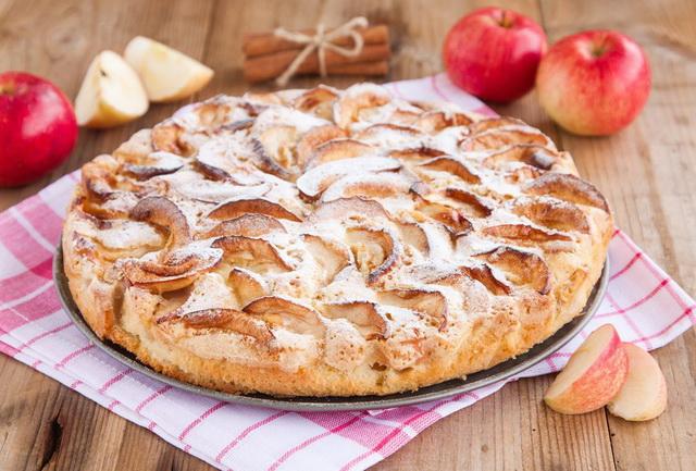 Шарлотка с яблоками рецепт с фото пошагово в духовке с молоком