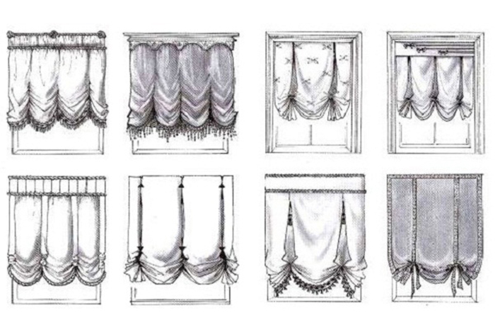 Английские шторы своими руками пошаговая инструкция 33