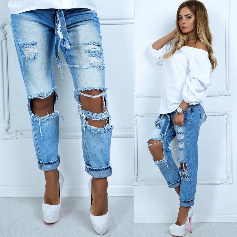 Как сделать дырки на джинсах своими руками 99