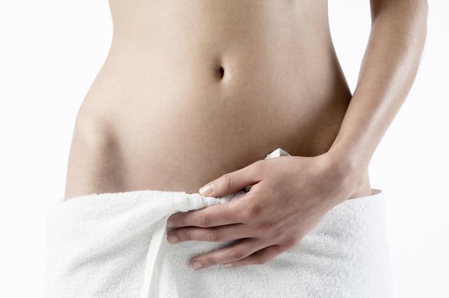 Женский оргаз во время массажа