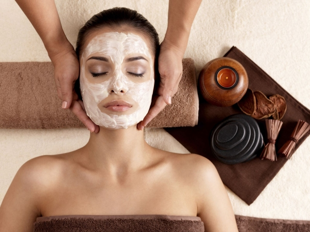 Facial homemade mask minimize pore