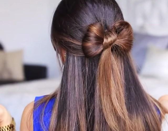 Причёски по быстрому в домашних условиях на длинные волосы 54