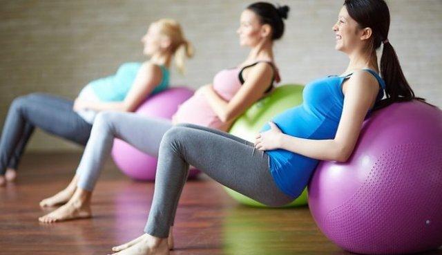 Гимнастика для беременных в домашних условиях. Упражнения 17