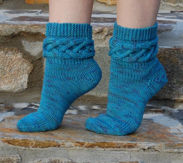 Как вязать носки своими руками