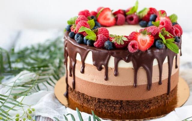Как приготовить красивый торт в домашних условиях