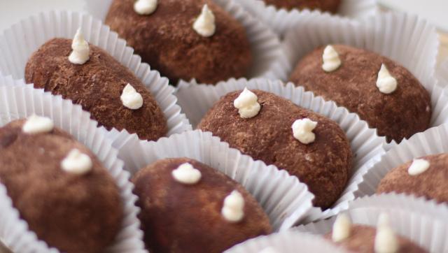 Печенье картошка из печенья рецепт пошагово со сгущенкой