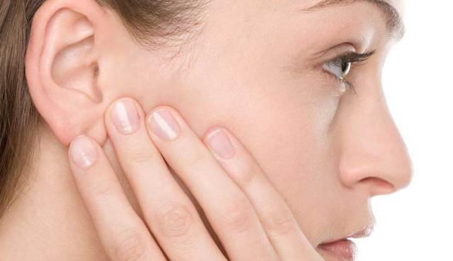 Простуда за ухом лечение в домашних условиях 799