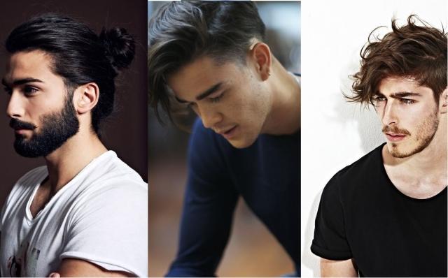 Модные причёски 2018 мужские фото с длинными волосами