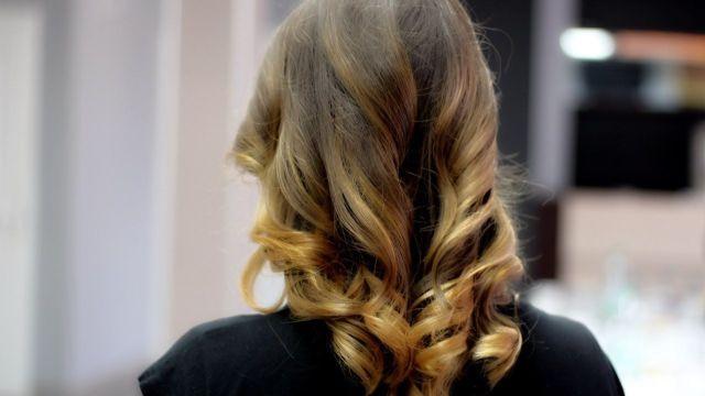 омбре на русые волосы длинные волосы