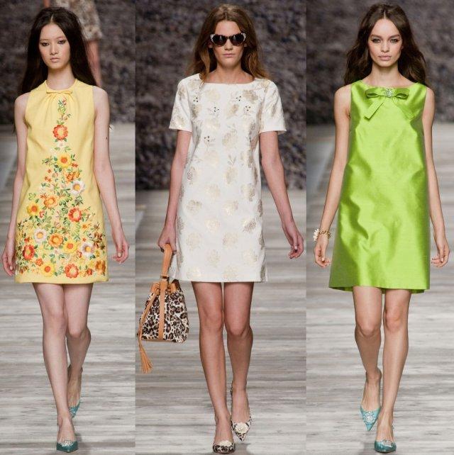 Летние стильные платья 2017