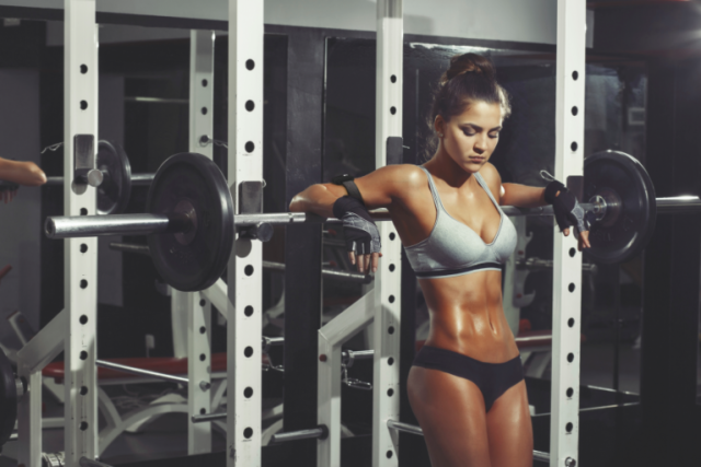 Простое тренировки похудения девушке