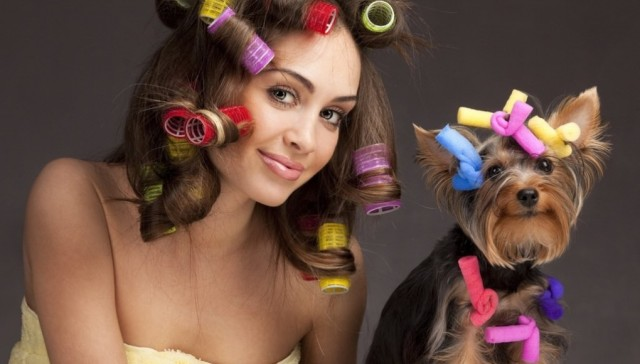как называется химия для волос
