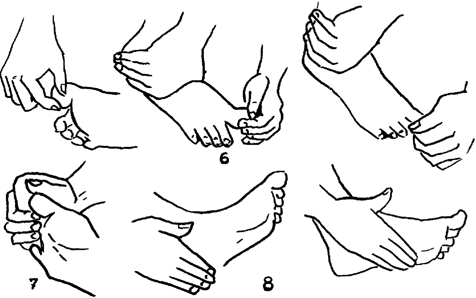 Схема массажа стоп ног фото 588