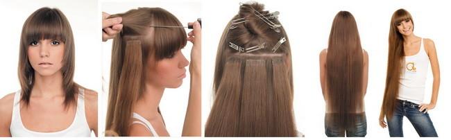 Как из тонких волос сделать густые фото 11