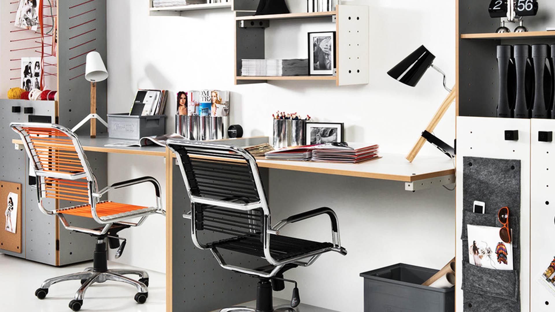 оформление рабочего стола в комнате подростка
