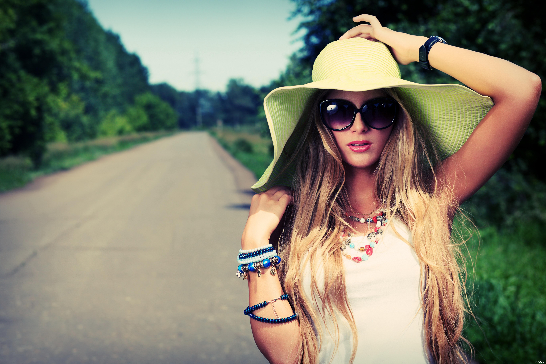 Красивые девушки на пляже мелированных фото — 7