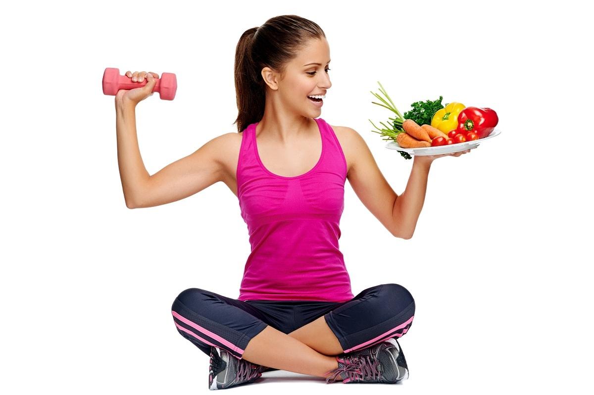 еда и спорт фото этой