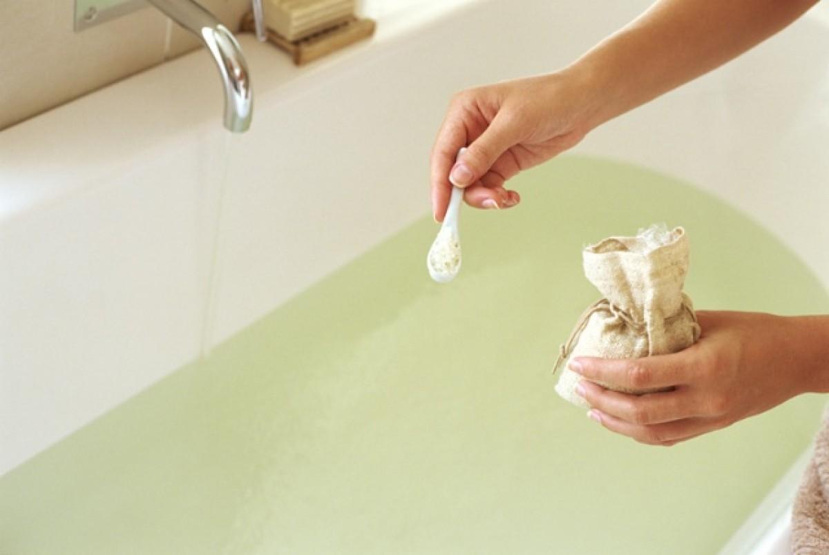 Ванна с морской солью для похудения