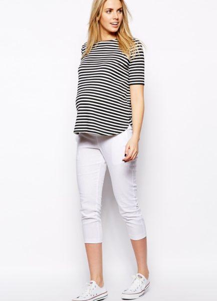 Мода для беременных весна-лето 2017. Модная одежда для беременных в ... 43e92c58feb