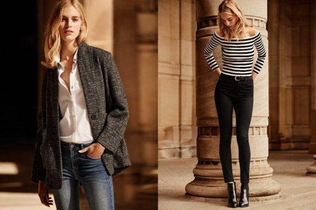 Джинсы и белая рубашка — идеальное сочетание, которое никогда не выйдет из  моды. Чтобы быть в тренде наверняка, можно дополнить их уютным жакетом  оверсайз. d09e4b01ecf
