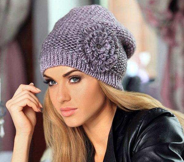 f7dec850f13b6d006936a05bf58c7bb4 Как связать шапку спицами для начинающих — схемы вязания, уроки вязания шапки. Как вязать шапку спицами