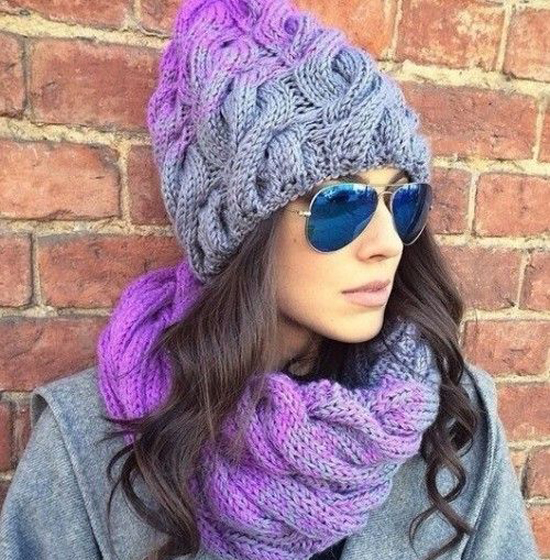 kosy Как связать шапку спицами для начинающих — схемы вязания, уроки вязания шапки. Как вязать шапку спицами