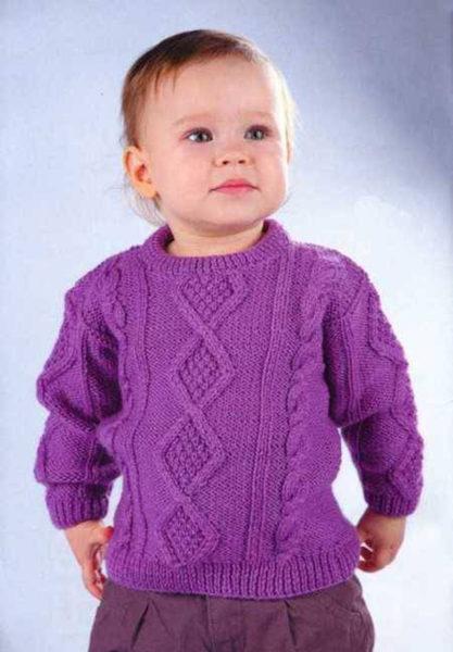 Схема вязки детского свитера фото 684