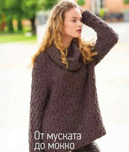 f25a88a0317 Как связать свитер спицами для начинающих — схемы