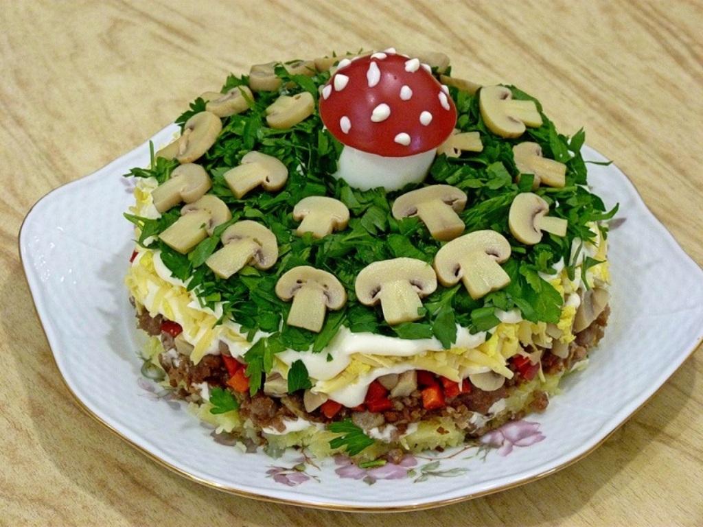 спорте рецепты красиво украшенных салатов с фото группы три месяца