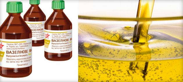 Вазелиновое масло для чего можно использовать