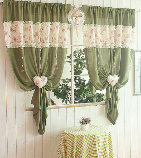 7e75a471b71d45a9042f4647919f38ce-curtain-ideas-modern-kitchens-535x600 Шторы на кухню своими руками, пошаговый пошив с фото